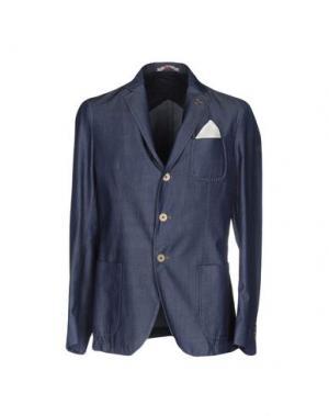 Пиджак PAOLONI. Цвет: грифельно-синий