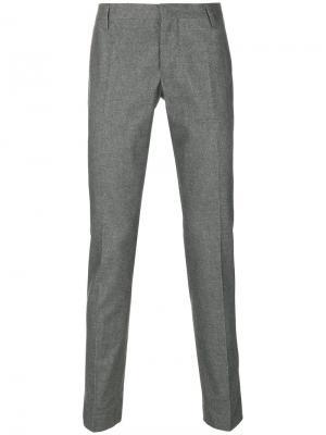 Классические брюки Entre Amis. Цвет: серый