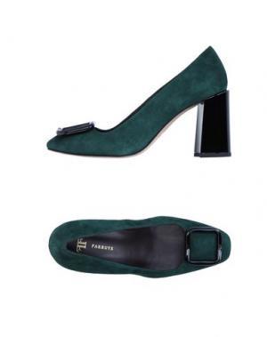 Туфли FARRUTX. Цвет: темно-зеленый