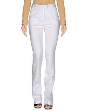 Повседневные брюки NEW YORK INDUSTRIE. Цвет: белый