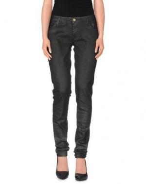 Повседневные брюки LE TEMPS DES CERISES. Цвет: стальной серый
