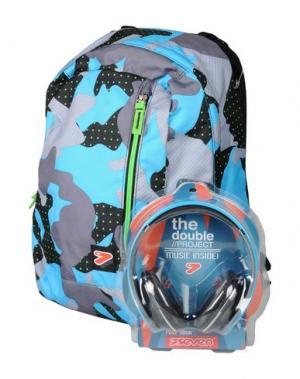 Рюкзаки и сумки на пояс SEVEN. Цвет: бирюзовый
