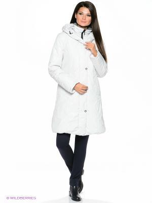 Пальто KATI Maritta. Цвет: белый