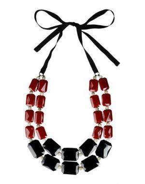Ожерелье DETTAGLI. Цвет: черный