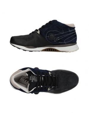 Высокие кеды и кроссовки REEBOK. Цвет: темно-синий