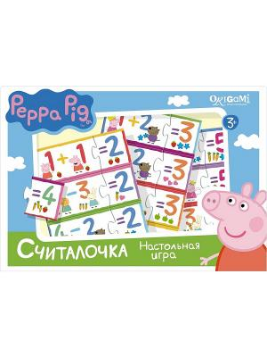 Наст.игра Считалочка Peppa Pig. Цвет: белый, желтый, розовый