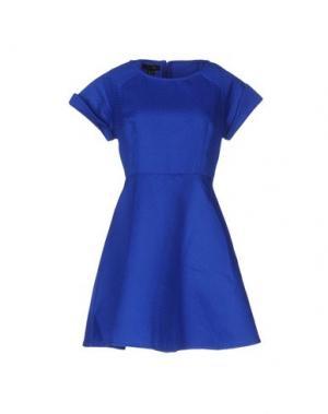 Короткое платье CUTIE. Цвет: ярко-синий