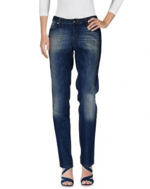 Джинсовые брюки SEVEN7. Цвет: синий