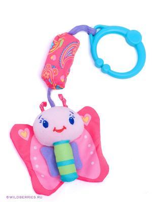 Развивающая игрушка Бабочка BRIGHT STARTS. Цвет: розовый