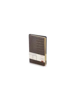 Ежедневник Boston, А5 Bruno Visconti. Цвет: коричневый
