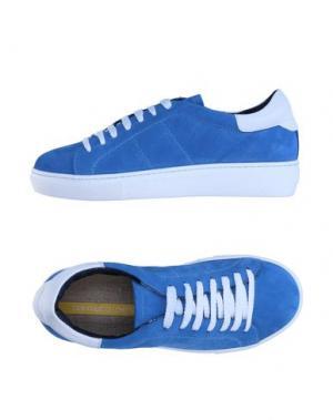 Низкие кеды и кроссовки GIANMARCO LORENZI. Цвет: пастельно-синий