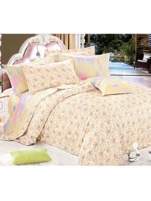 Комплект постельного белья, 1,5 спальный Sofi de Marko. Цвет: бежевый