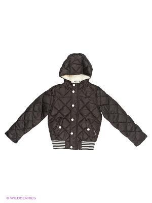 Куртка Sisley Young. Цвет: черный