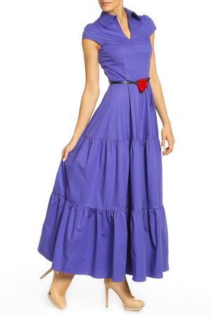 Платье Mannon. Цвет: сиреневый