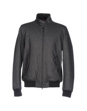 Куртка BARACUTA. Цвет: серый