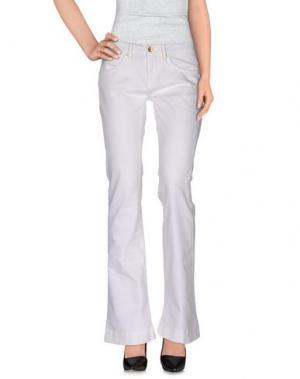 Повседневные брюки STAFF JEANS & CO.. Цвет: белый