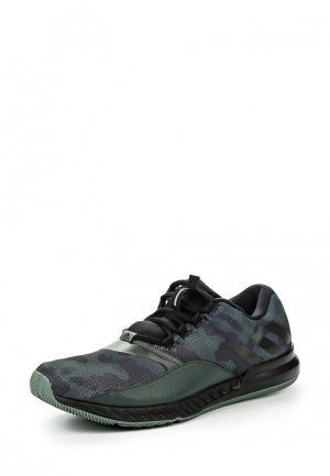 Кроссовки adidas. Цвет: зеленый