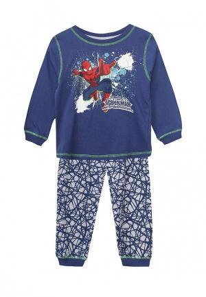 Пижама Blukids. Цвет: синий