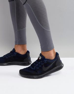 Nike Running Черные кроссовки Free Run Shield AA3760-001. Цвет: черный