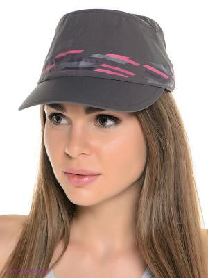 Кепка SUPPLEX CAP WOMEN Jack Wolfskin. Цвет: темно-серый