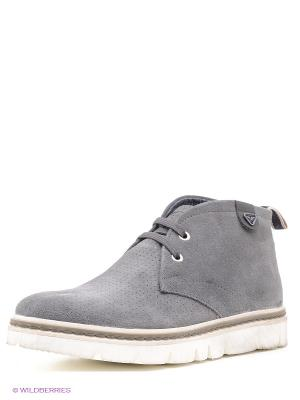 Ботинки Salsa. Цвет: серый