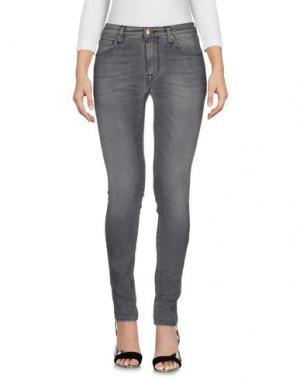 Джинсовые брюки TRUE NYC.. Цвет: серый