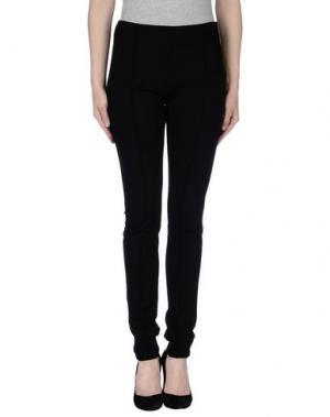 Повседневные брюки DUCK FARM. Цвет: черный