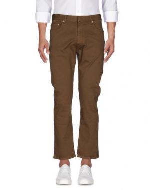 Джинсовые брюки COVERT. Цвет: хаки