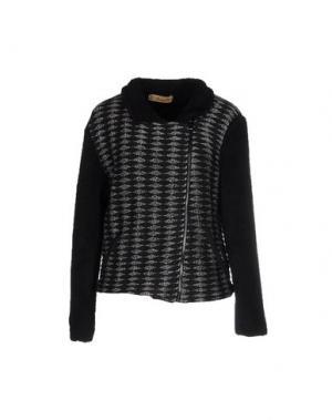 Куртка MAISON OLGA. Цвет: черный