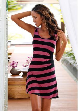 Ночная сорочка Marie Claire. Цвет: ягодный/черный