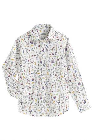 Рубашка HARTFORD. Цвет: белый