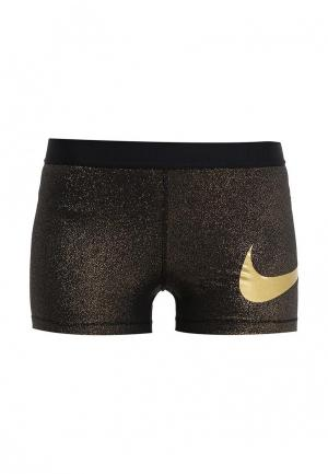 Шорты спортивные Nike. Цвет: золотой