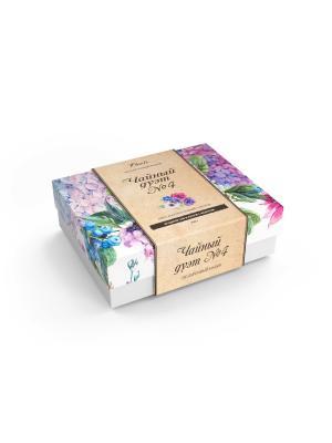 Набор подарочный Чайный дуэт № 4 Floris. Цвет: белый