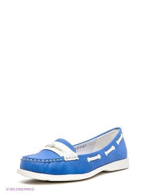 Мокасины Wilmar. Цвет: синий