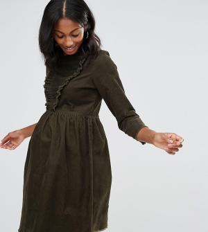 ASOS Maternity Зеленое свободное платье для беременных. Цвет: зеленый