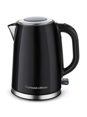 Чайник электрический KE-718 Zigmund & Shtain. Цвет: черный