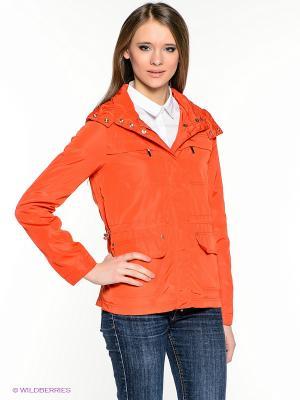 Куртка INCITY. Цвет: оранжевый
