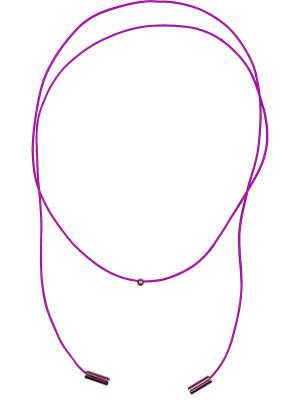Чокер-шнурок MARFA&MADONNA. Цвет: лиловый