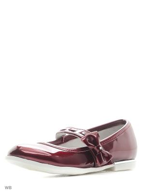 Туфли Болеро. Цвет: бордовый