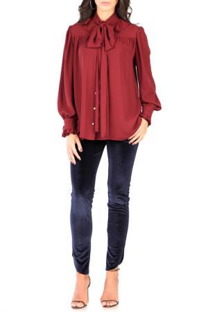 Блуза CARLA BY ROZARANCIO. Цвет: bordeaux