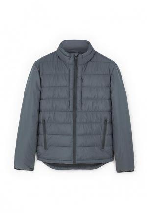 Куртка утепленная Mango Man. Цвет: серый