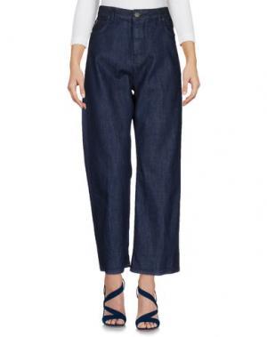 Джинсовые брюки 2W2M. Цвет: синий