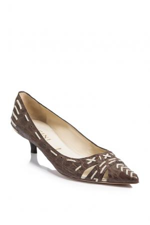 Туфли SF-193890 Vicini. Цвет: коричневый