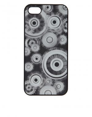 Чехол для iPhone 5 с механизмами 3-D Motion Подарки. Цвет: черный