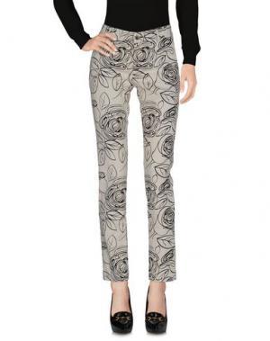 Повседневные брюки KUBERA 108. Цвет: светло-серый