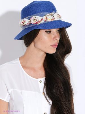Шляпа FOMAS. Цвет: синий
