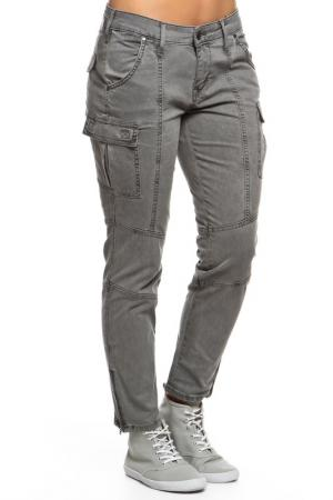 Брюки джинсовые Mustang. Цвет: drizzle