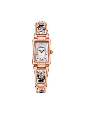 Часы Mikhail Moskvin. Цвет: голубой, розовый, серебристый