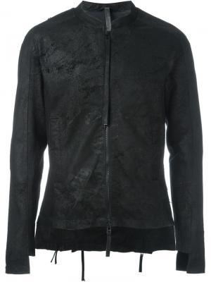 Куртка на молнии Barbara I Gongini. Цвет: чёрный
