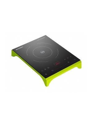 Индукционная плита OURSSON. Цвет: зеленый